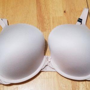 Torrid Curve Plunge Smooth Cup Nude Bra 46B